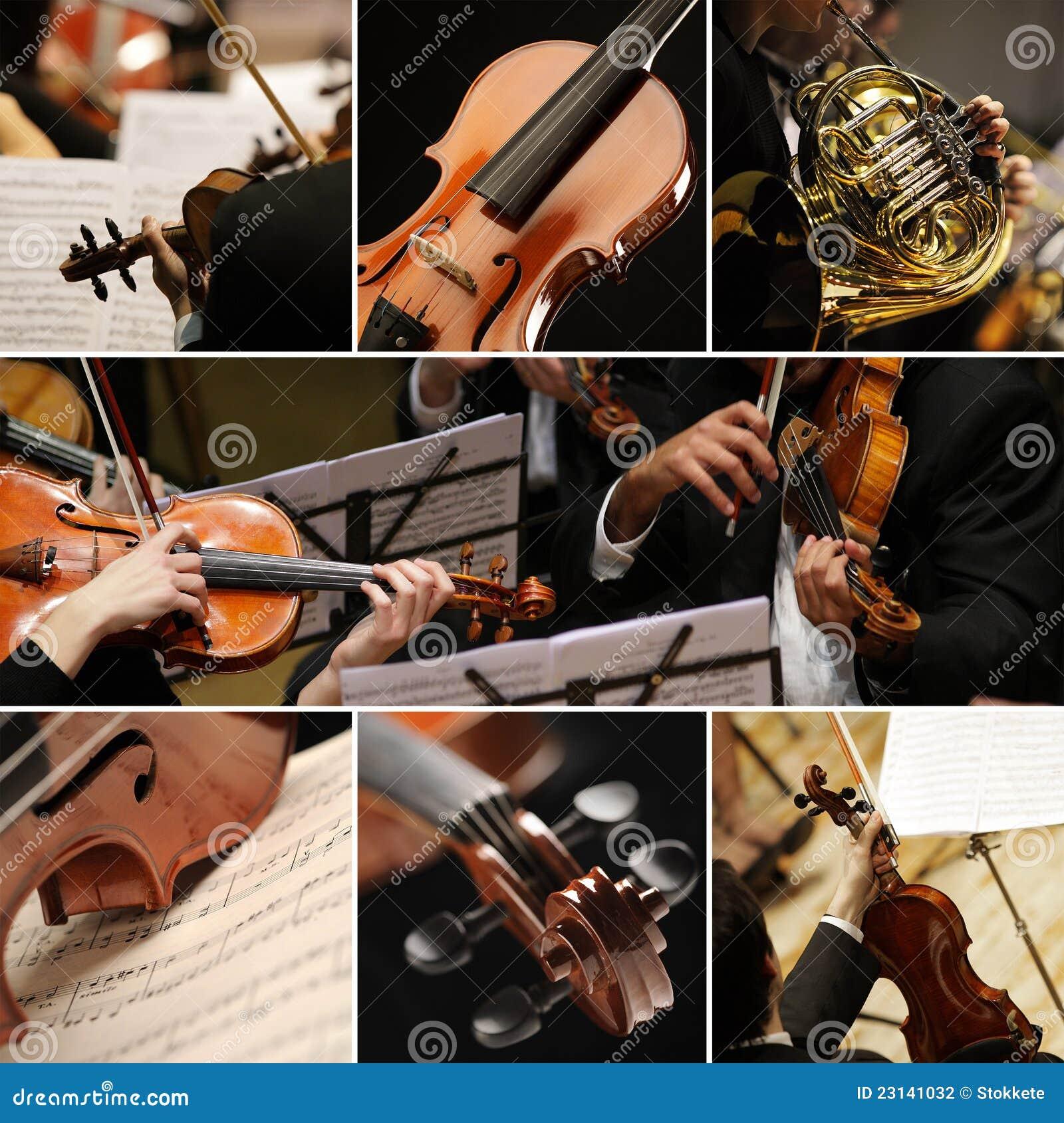 Collage der klassischen Musik