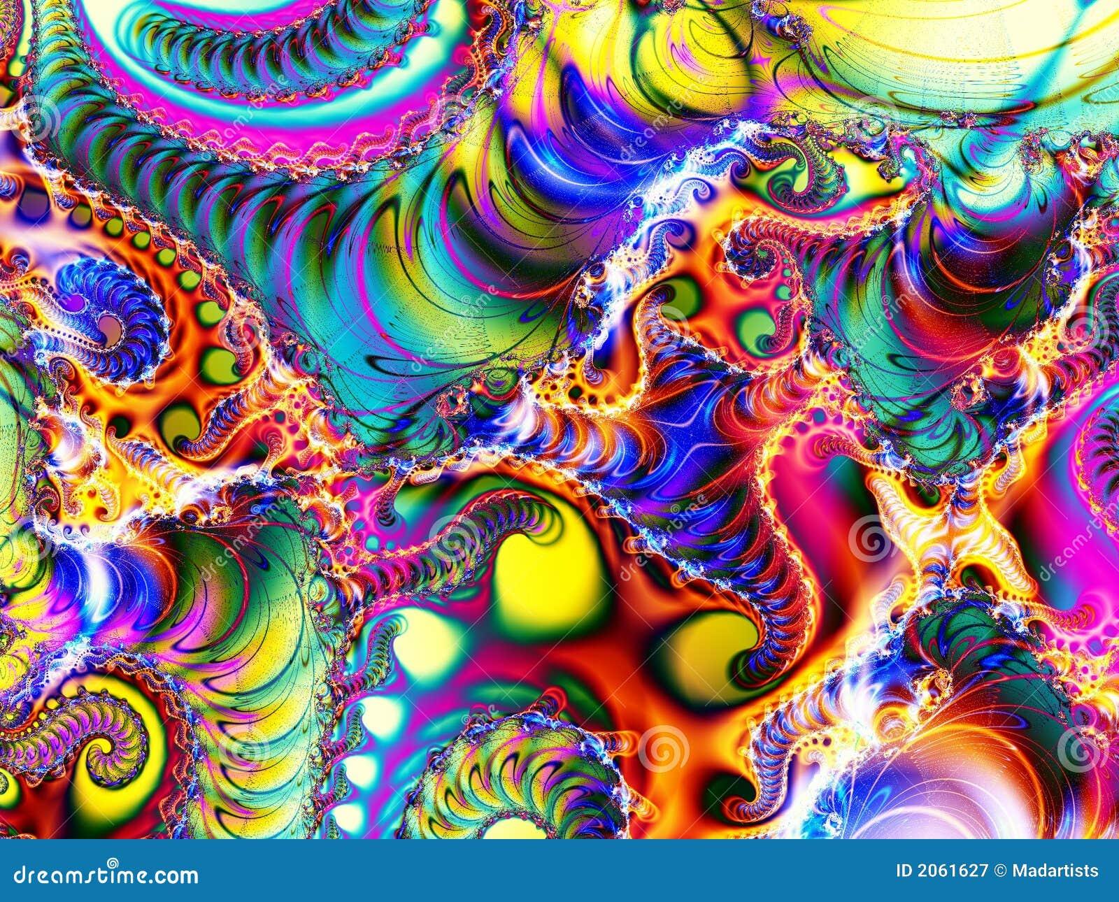 Collage di Digitahi di arte astratta