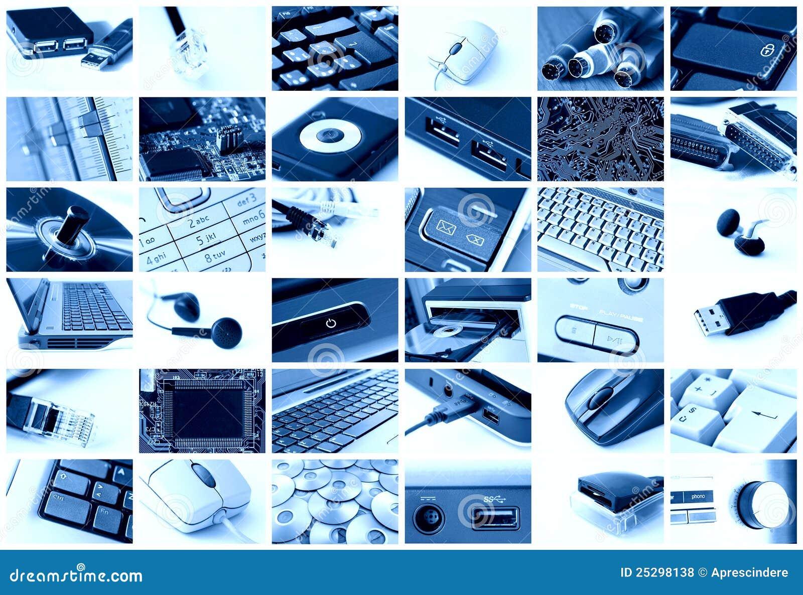 Collage di tecnologia