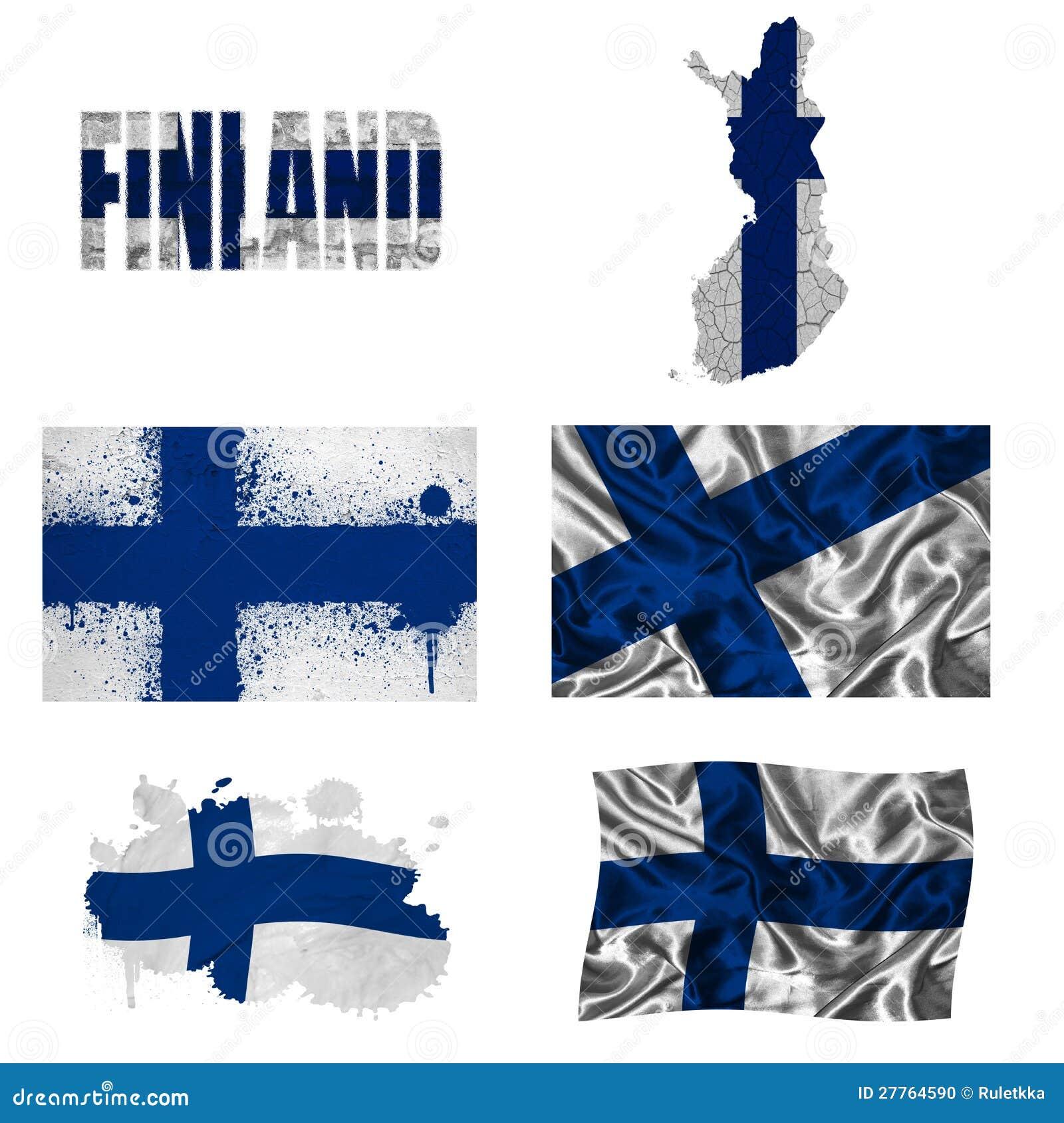 Collage finlandais d indicateur