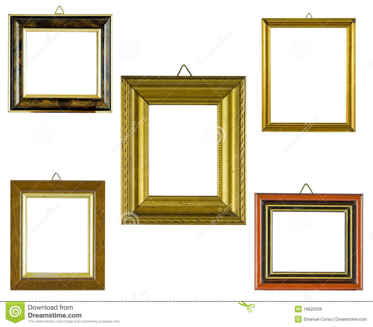 collage frames stock photo image of cover blank gallery 18626336. Black Bedroom Furniture Sets. Home Design Ideas