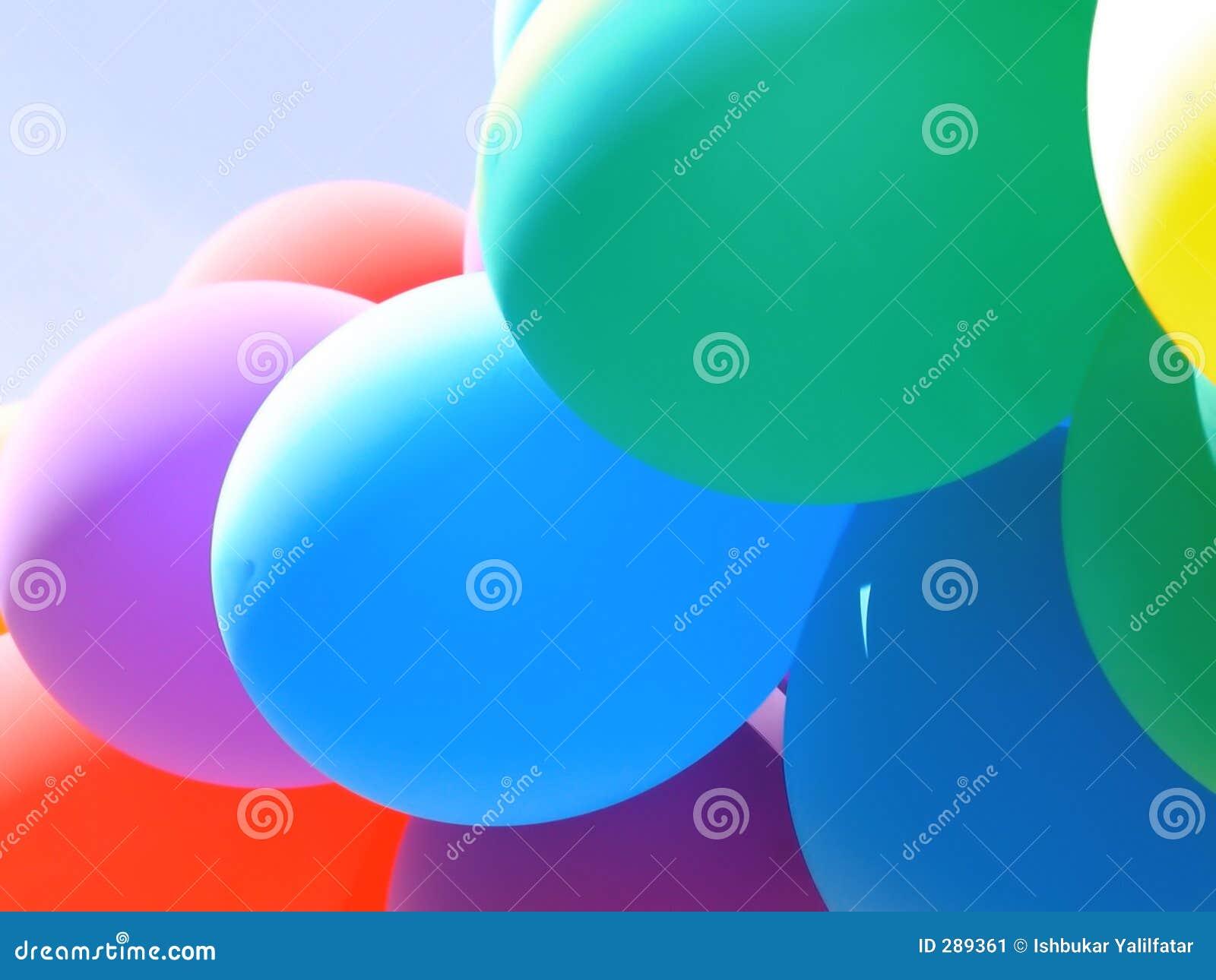 Collage I van de ballon