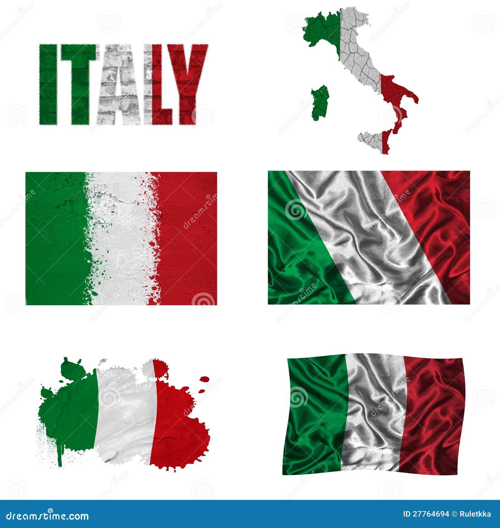 Collage italien d indicateur