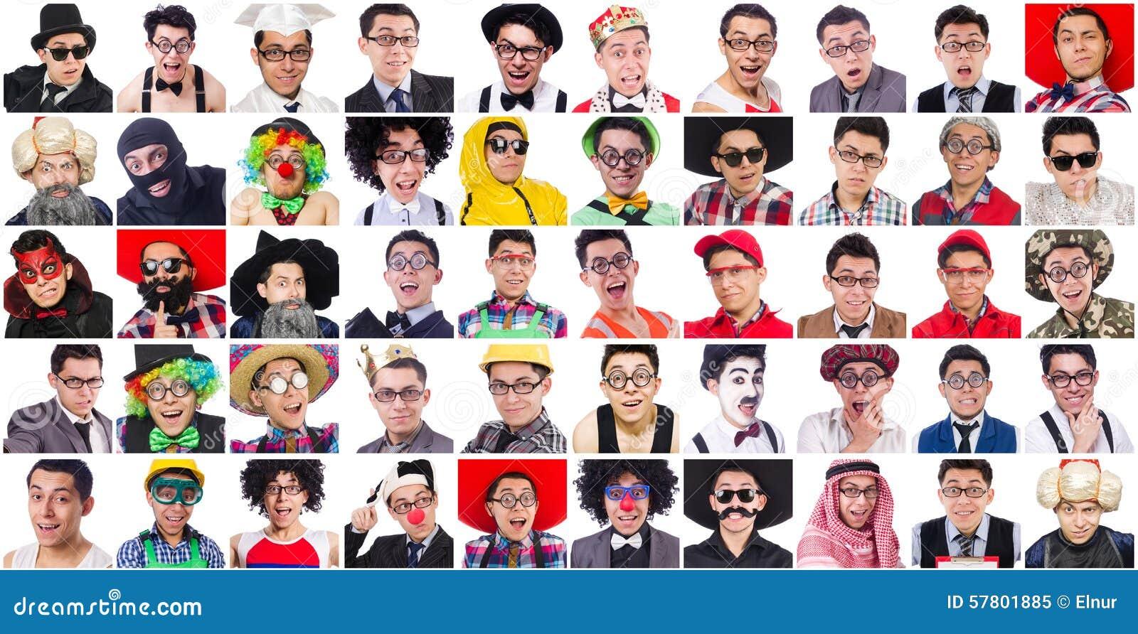 Faces Many