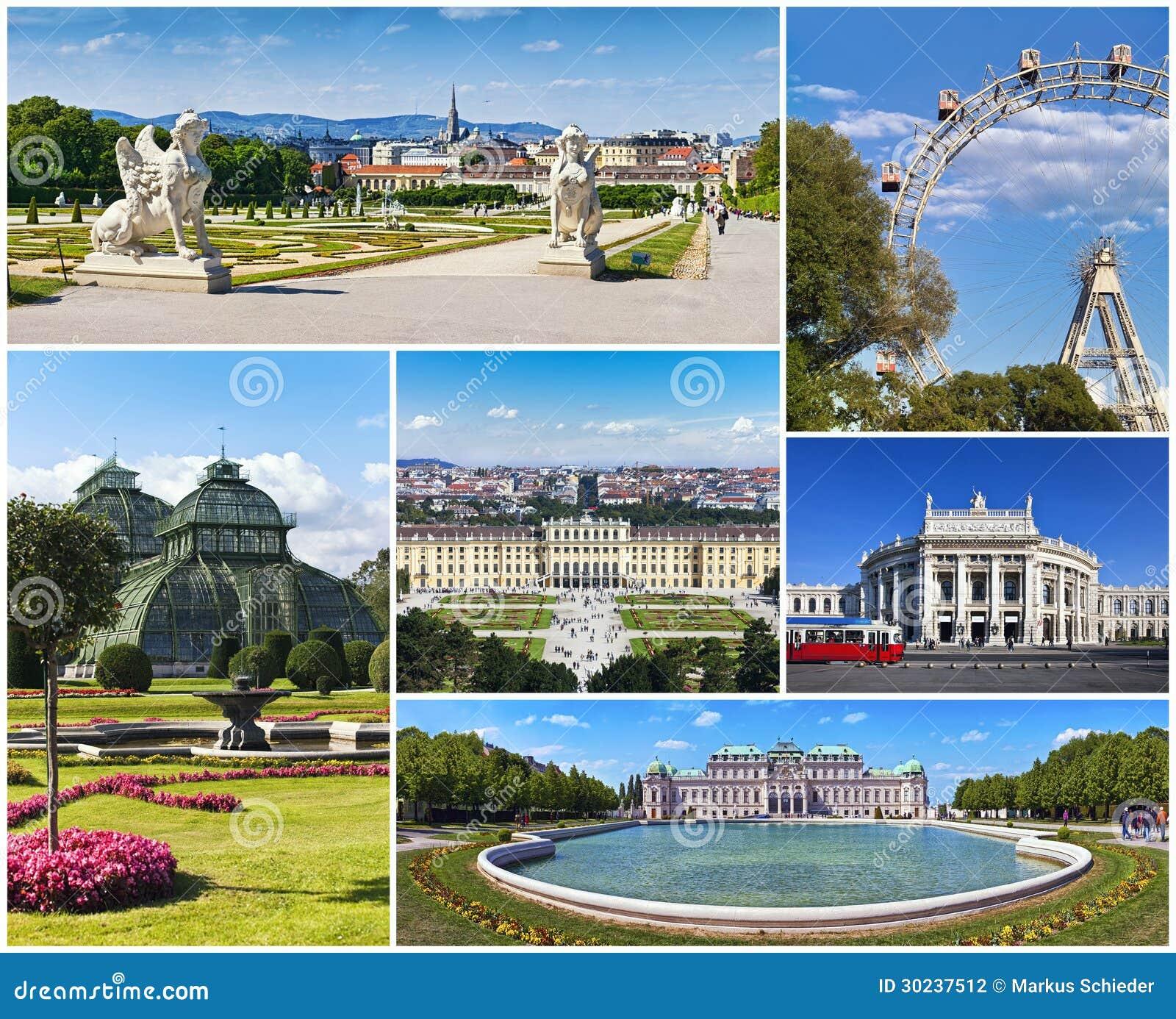 Collage av Wien