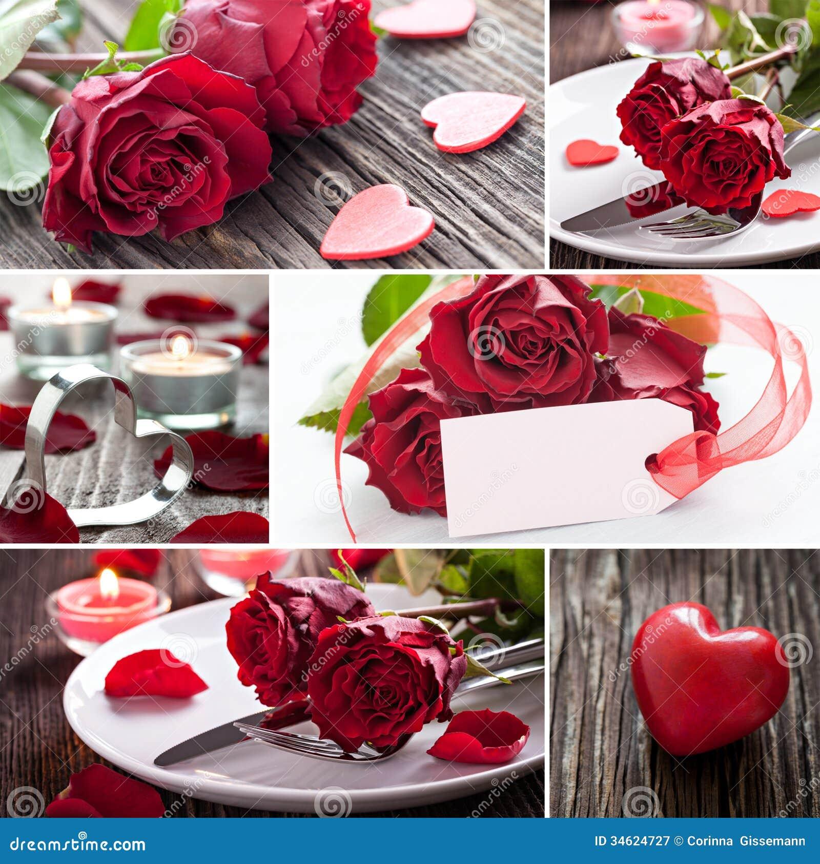 Fesselnd Collage Valentines Day