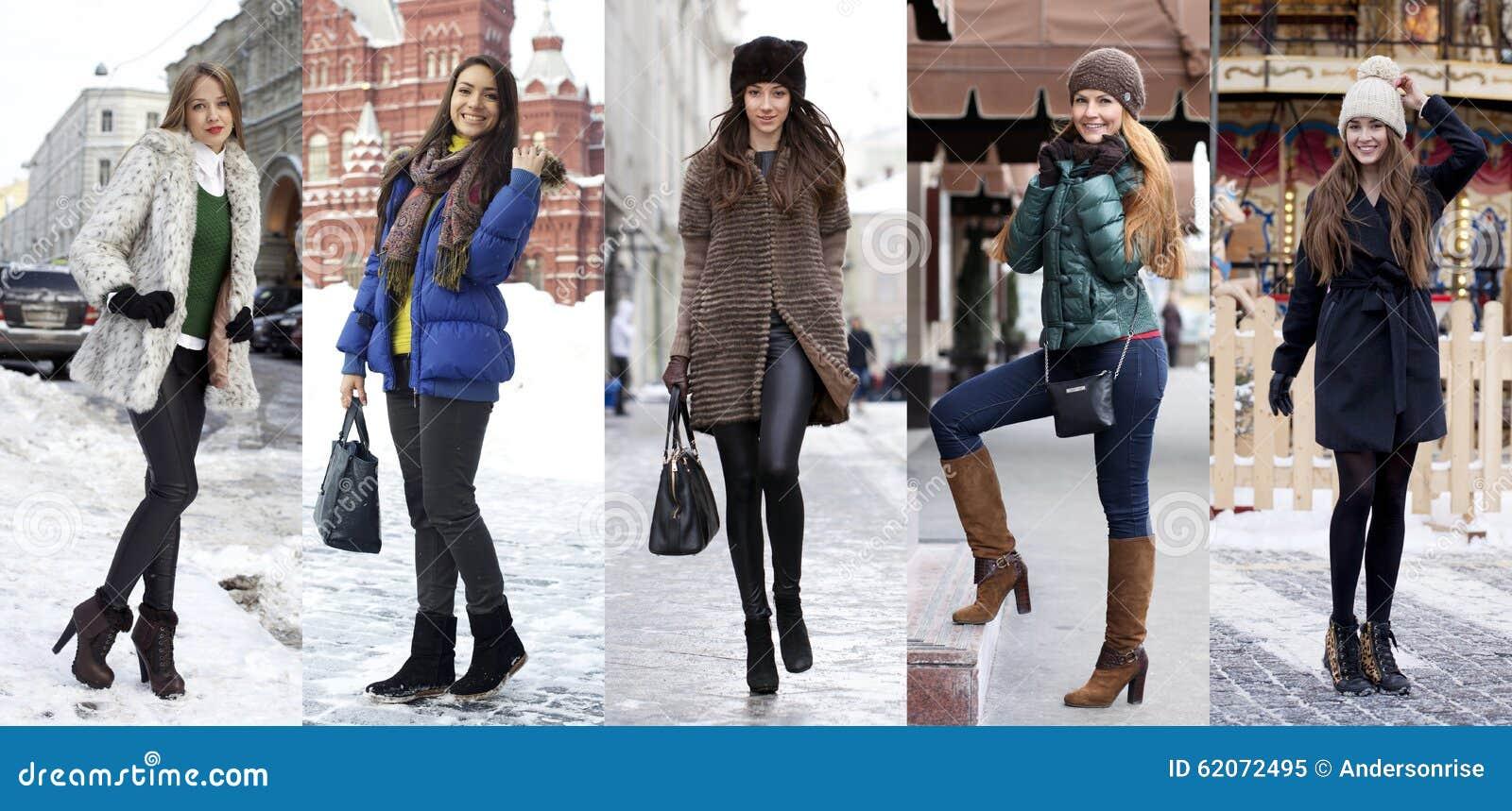 Woman Winter Fashion Beautiful 71
