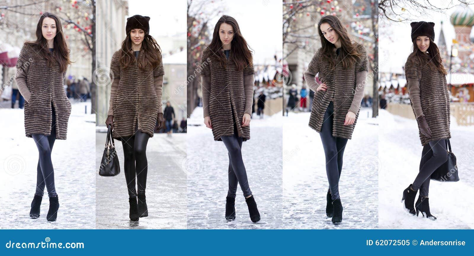 Woman Winter Fashion Beautiful 44