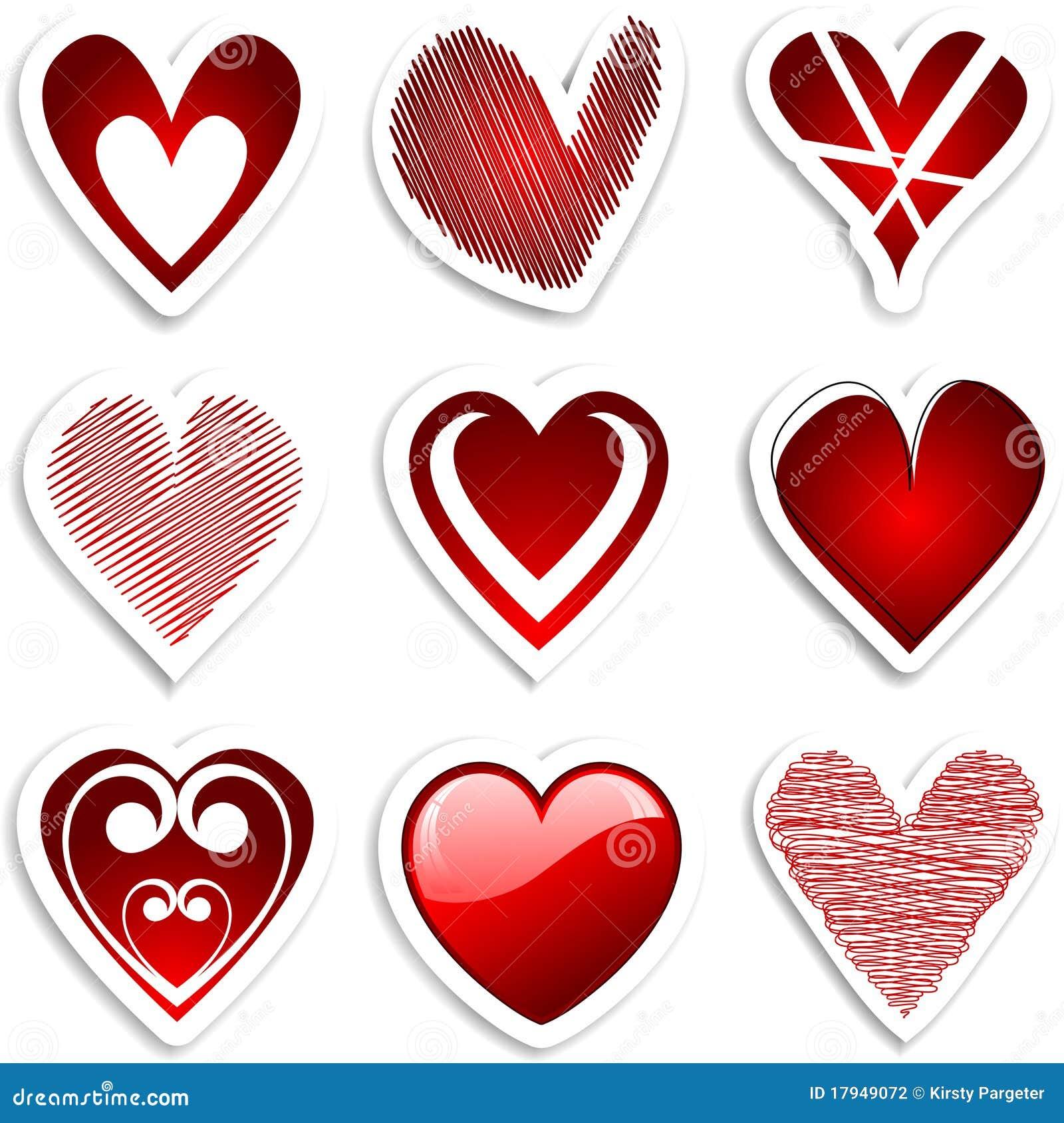 Collants de coeur