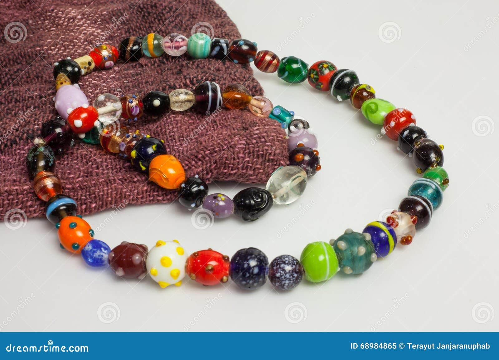 Collar coloreado multi