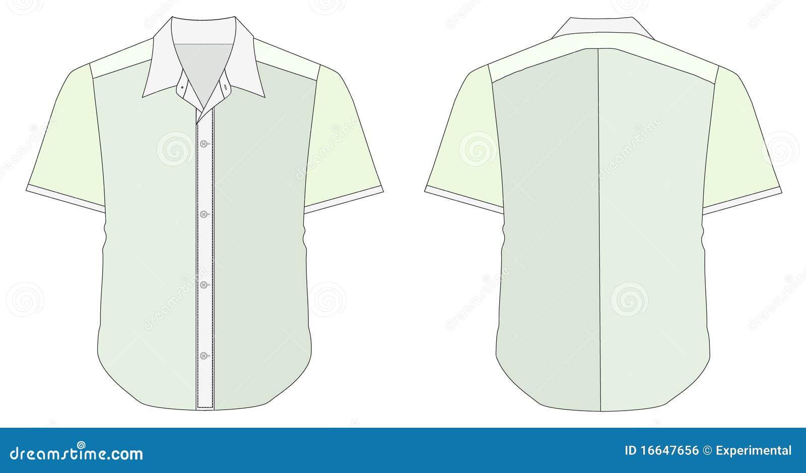 collar dress shirt in blue green color tones royalty free. Black Bedroom Furniture Sets. Home Design Ideas