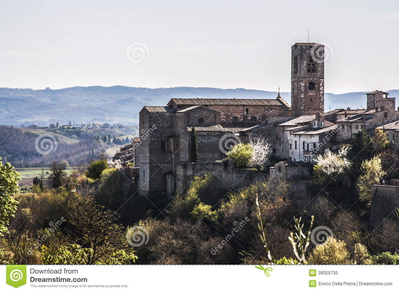 Colle Val D'Elsa Italy  city images : View of colle di val d'elsa in tuscany. italy.