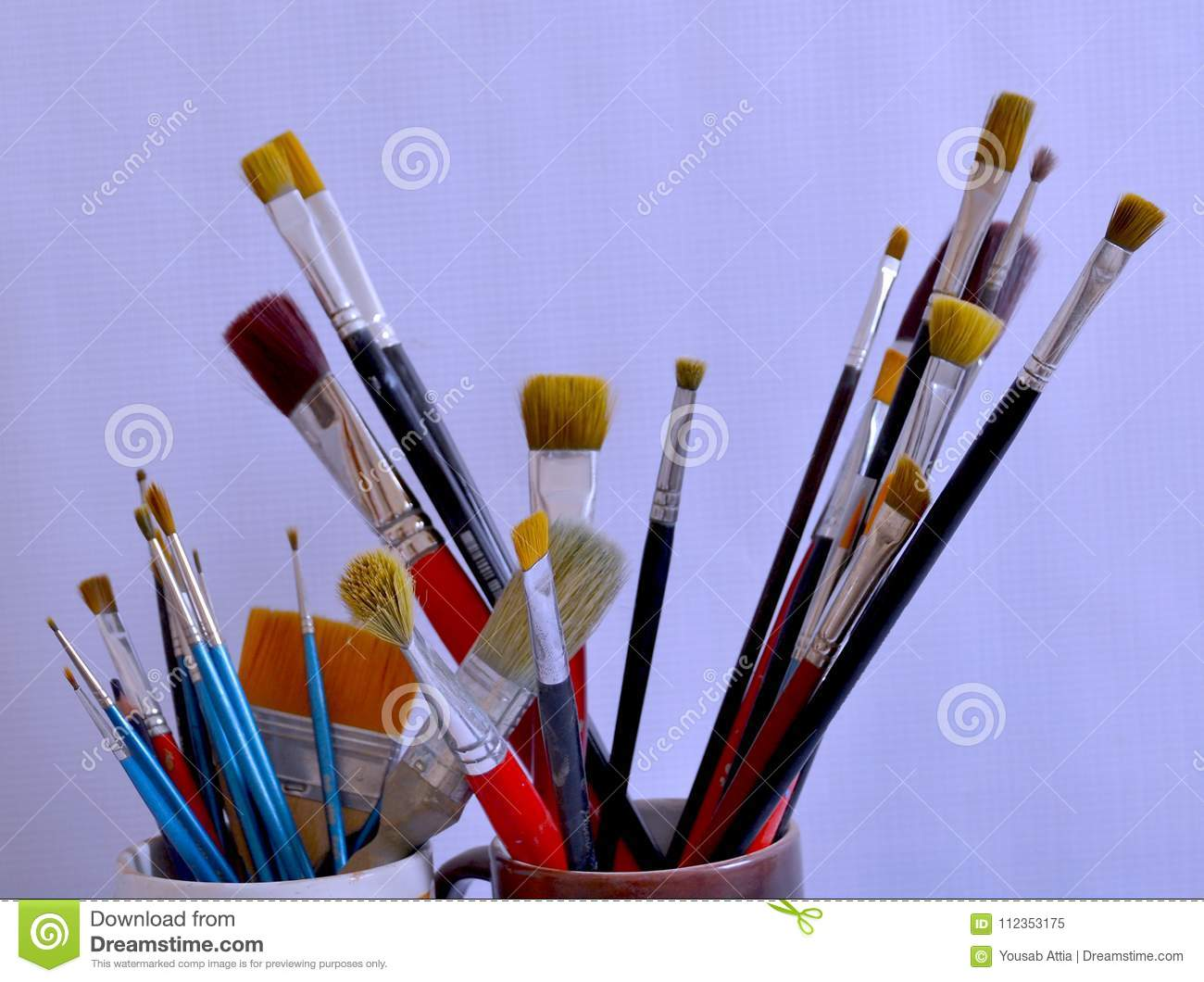 Collect of brushes