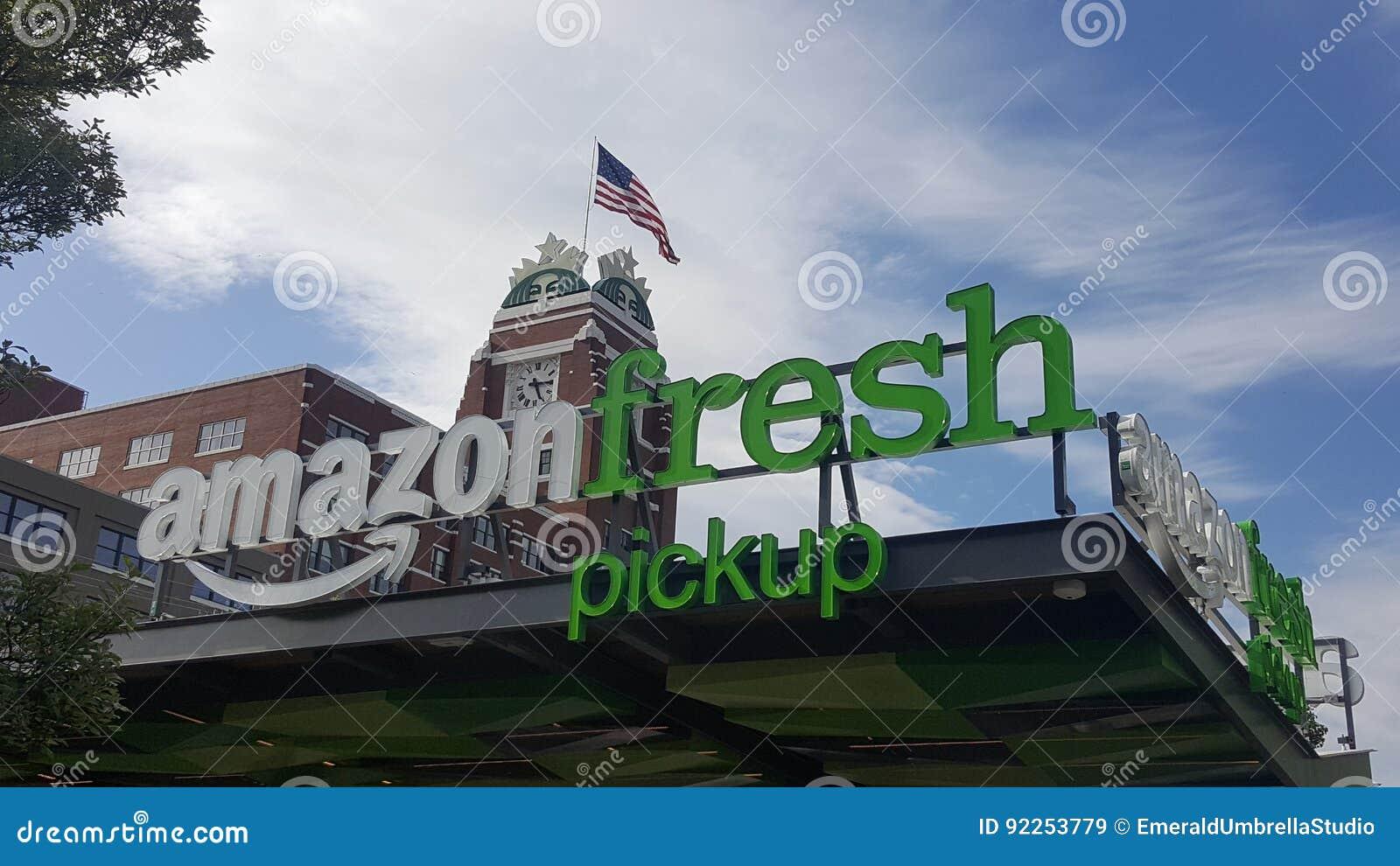 Collecte fraîche d Amazone aux sièges sociaux d entreprise de Starbucks