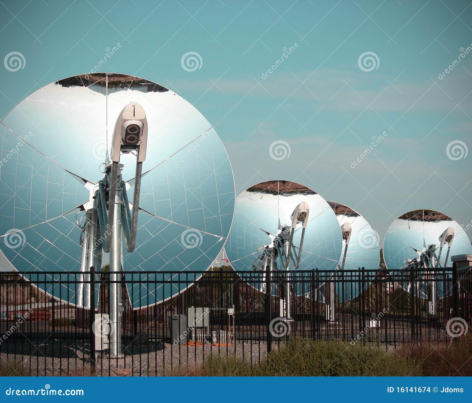 Collecteur parabolique d 39 nergie solaire de parabolo de for Miroir solaire parabolique
