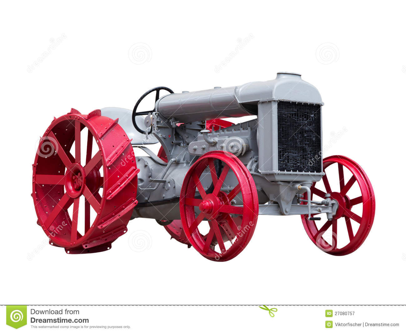 Collectible Antique Toy Tractor Royalty Free Stock ...