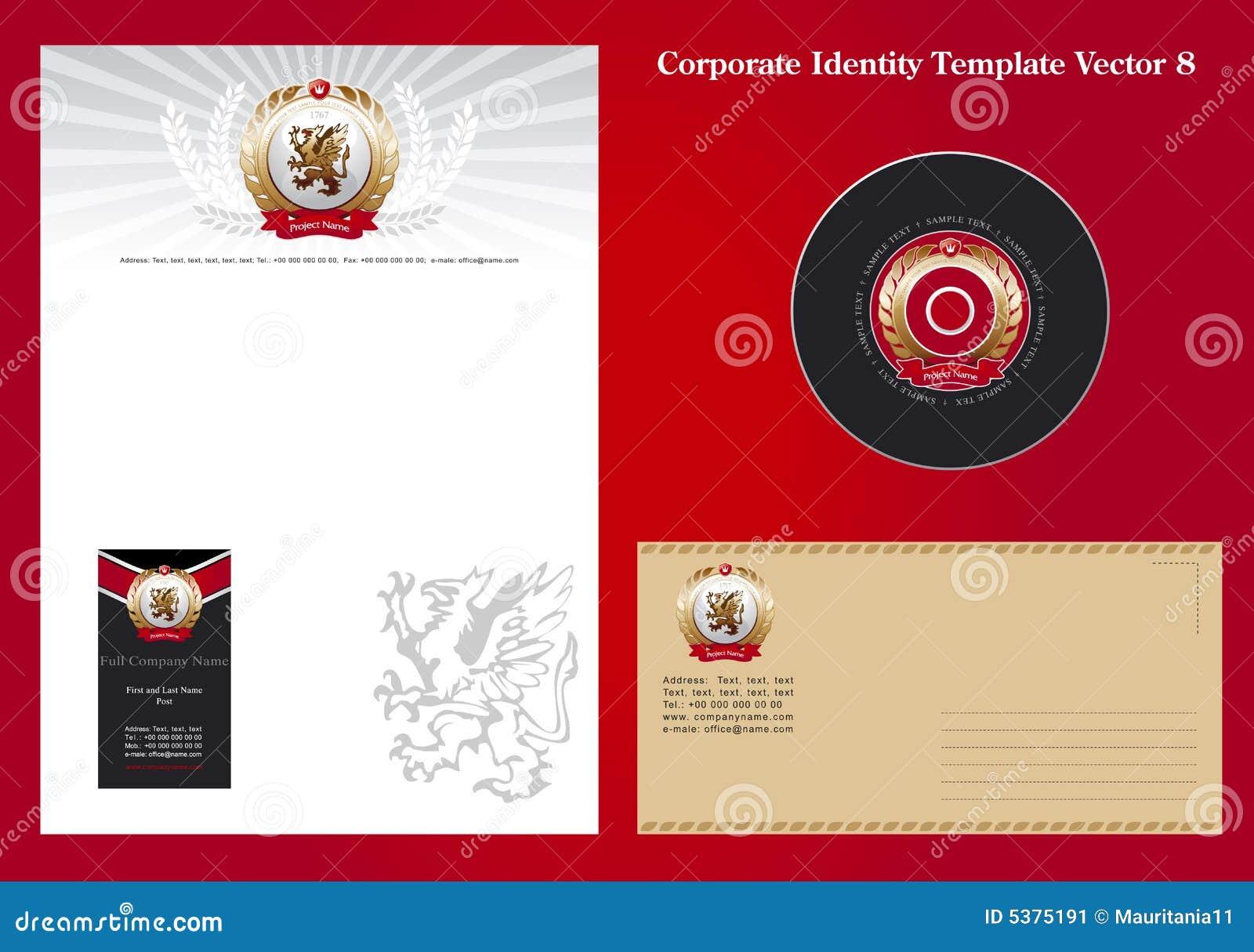 Collectieve Vector 8 van het Malplaatje van de Identiteit