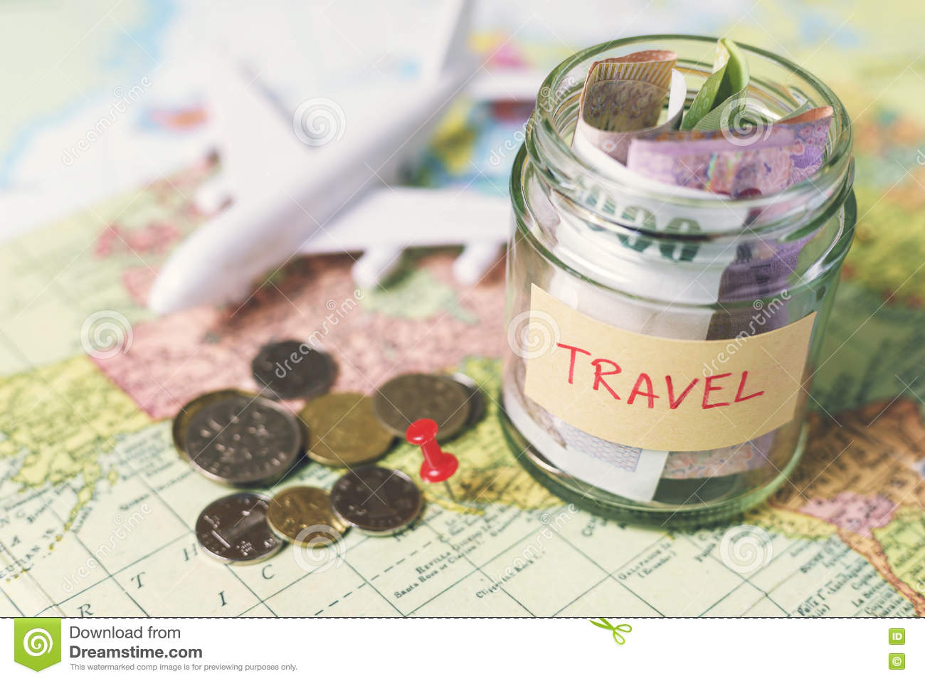 collecting money for travel stock photo image of adventures