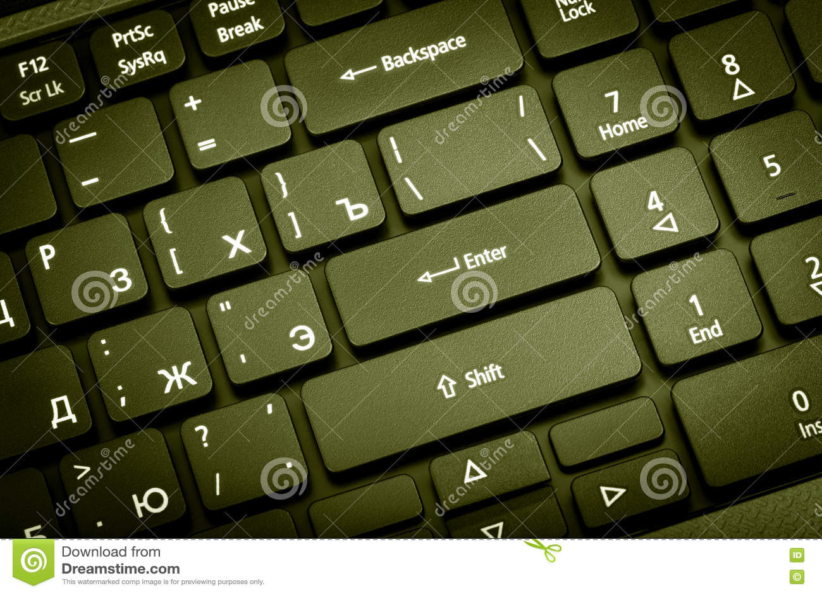 Collection électronique Clavier D'ordinateur Portable De