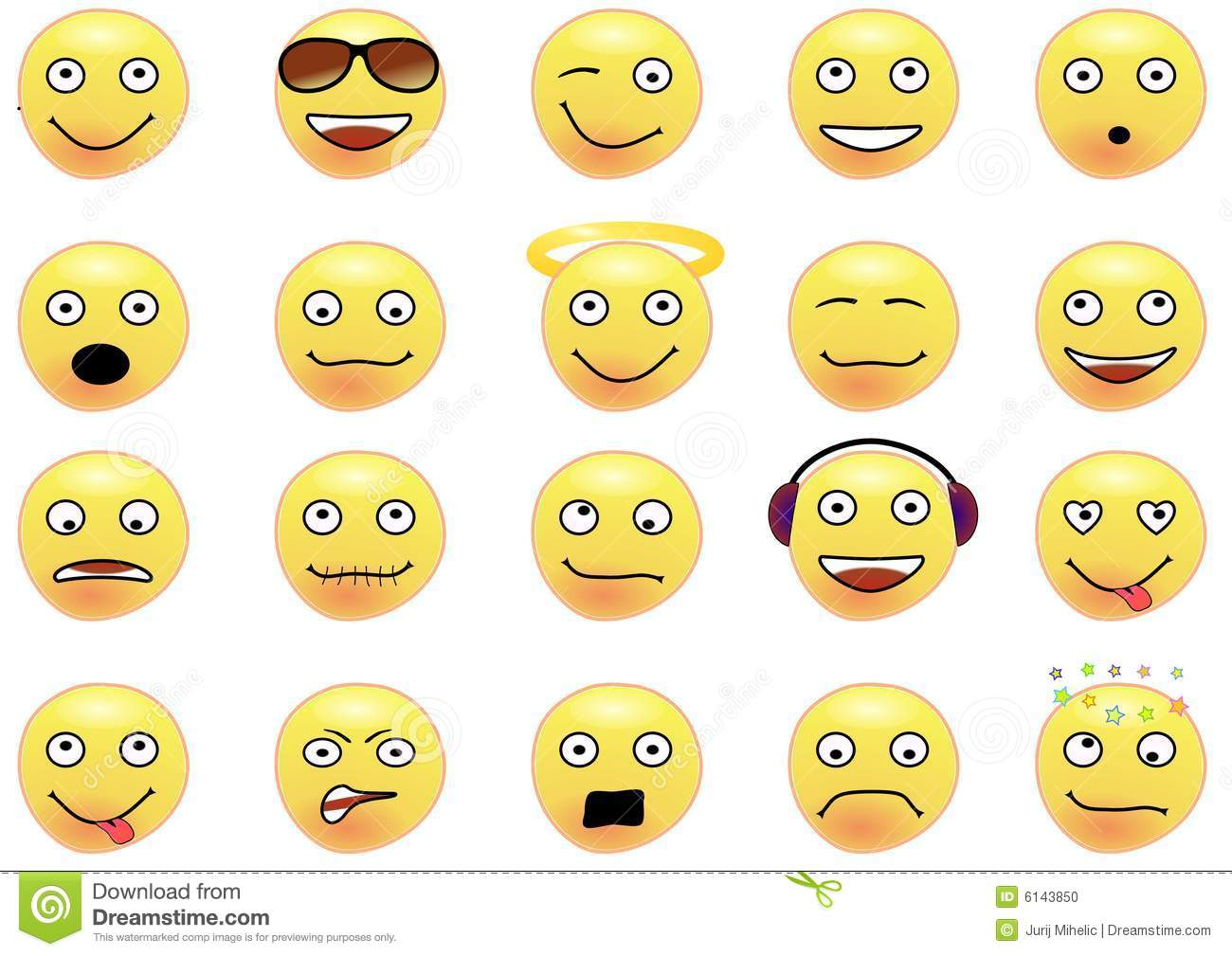 collection of 20 smilies stock photo image 6143850 no talking please clipart no talking clip art image