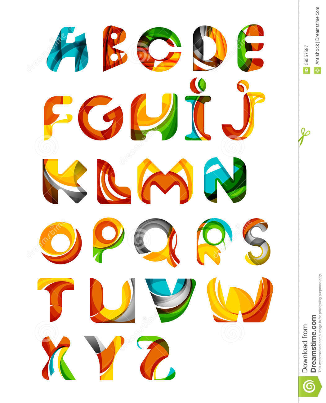 Collection Of Alphabet...