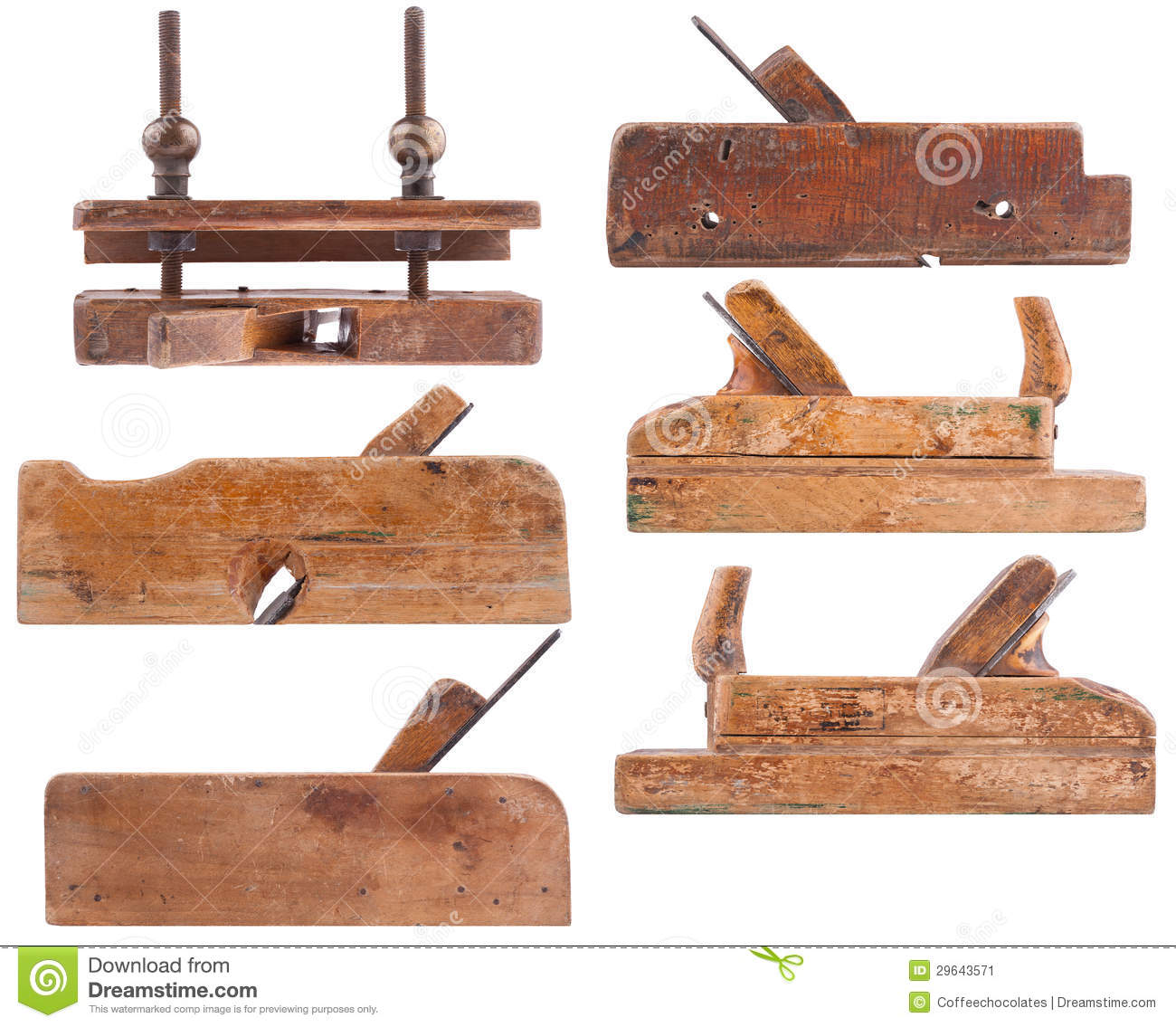 Elegant Woodworking Hand Tools Images