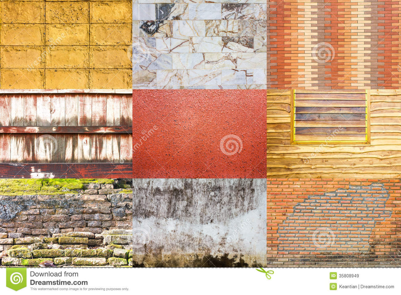Collection of background wall royalty free stock images for Different wallpapers for walls