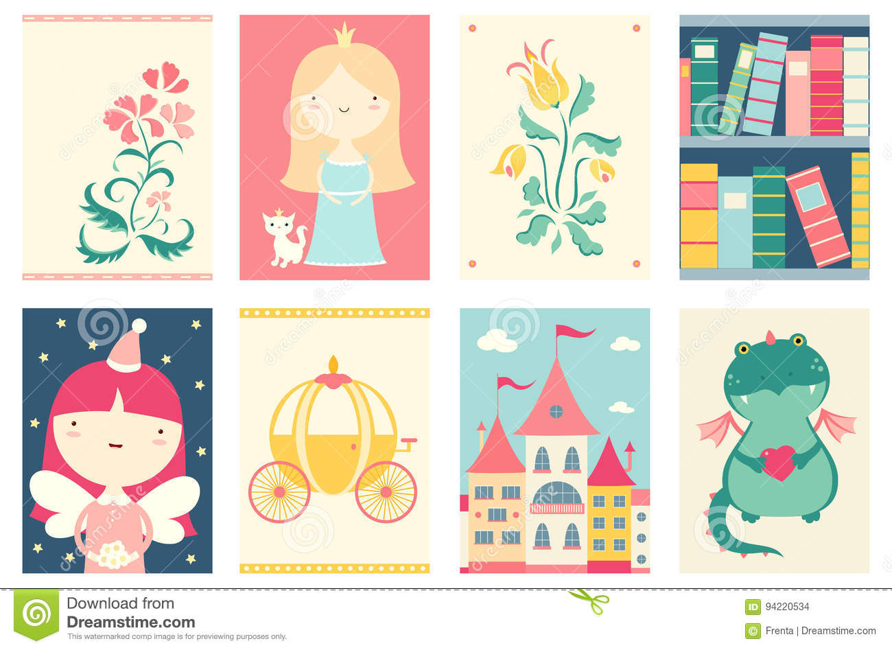 fairy tale powerpoint template free download gallery - templates, Modern powerpoint