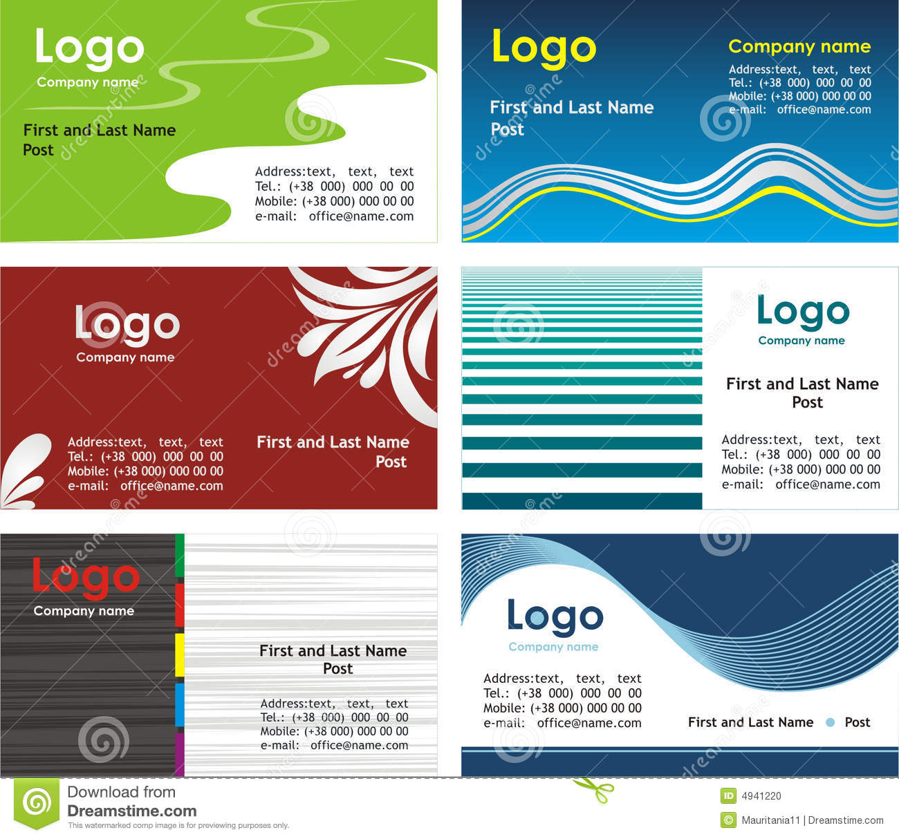 downloadable business card templates for word - free word business card templates business card sample