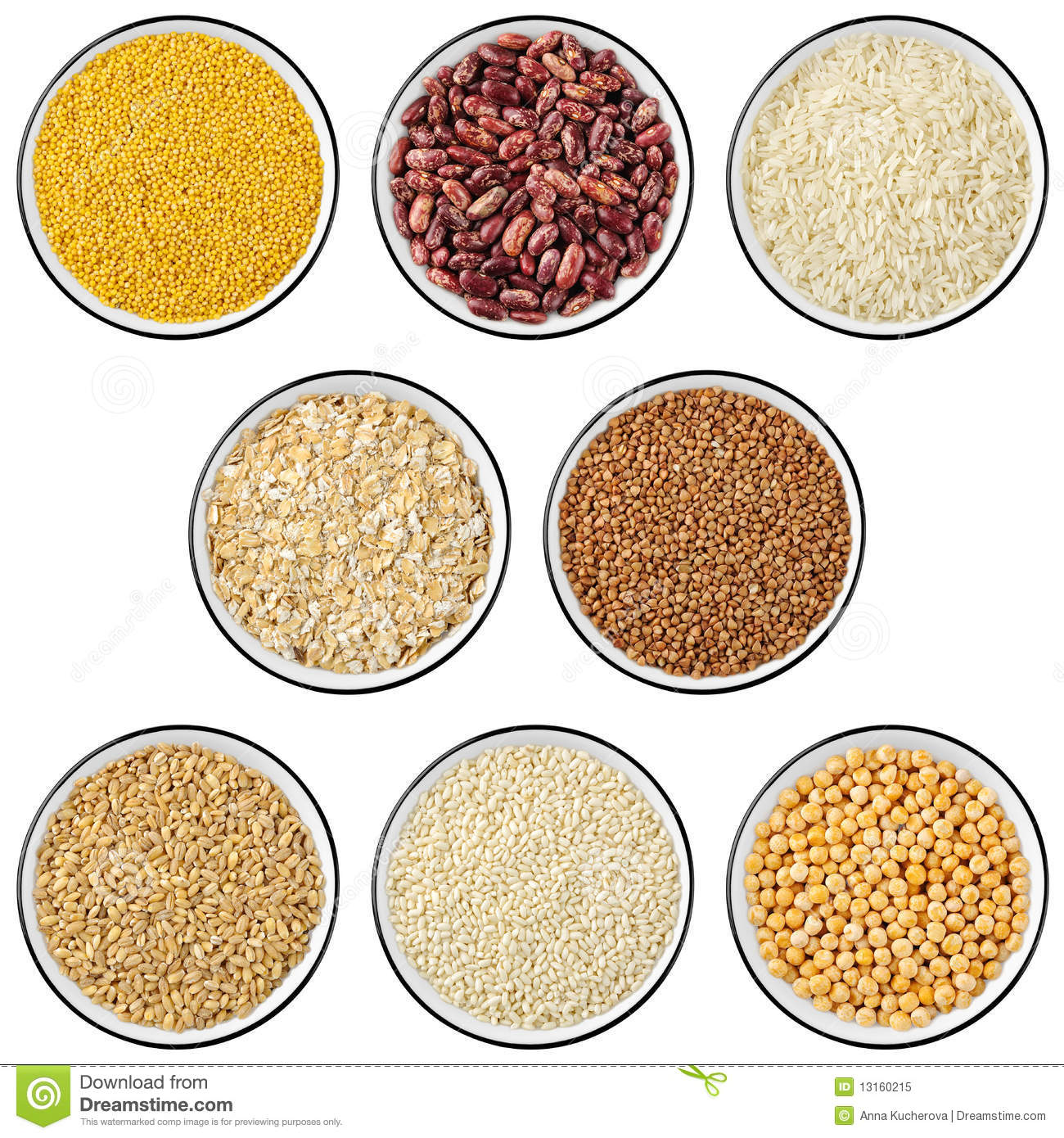 Industry industrial cereals and legumes