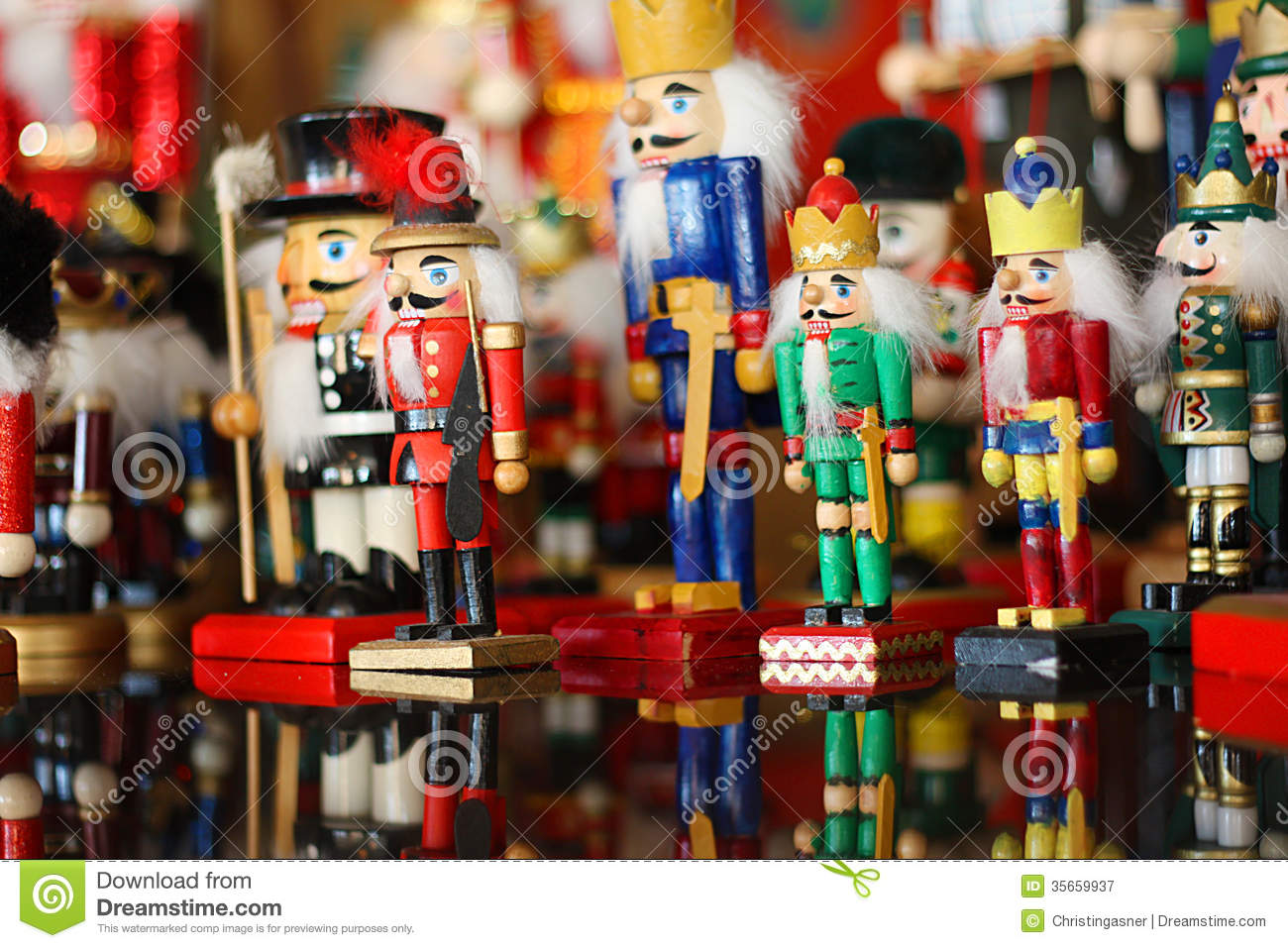 Collection of Christmas Nutcrackers