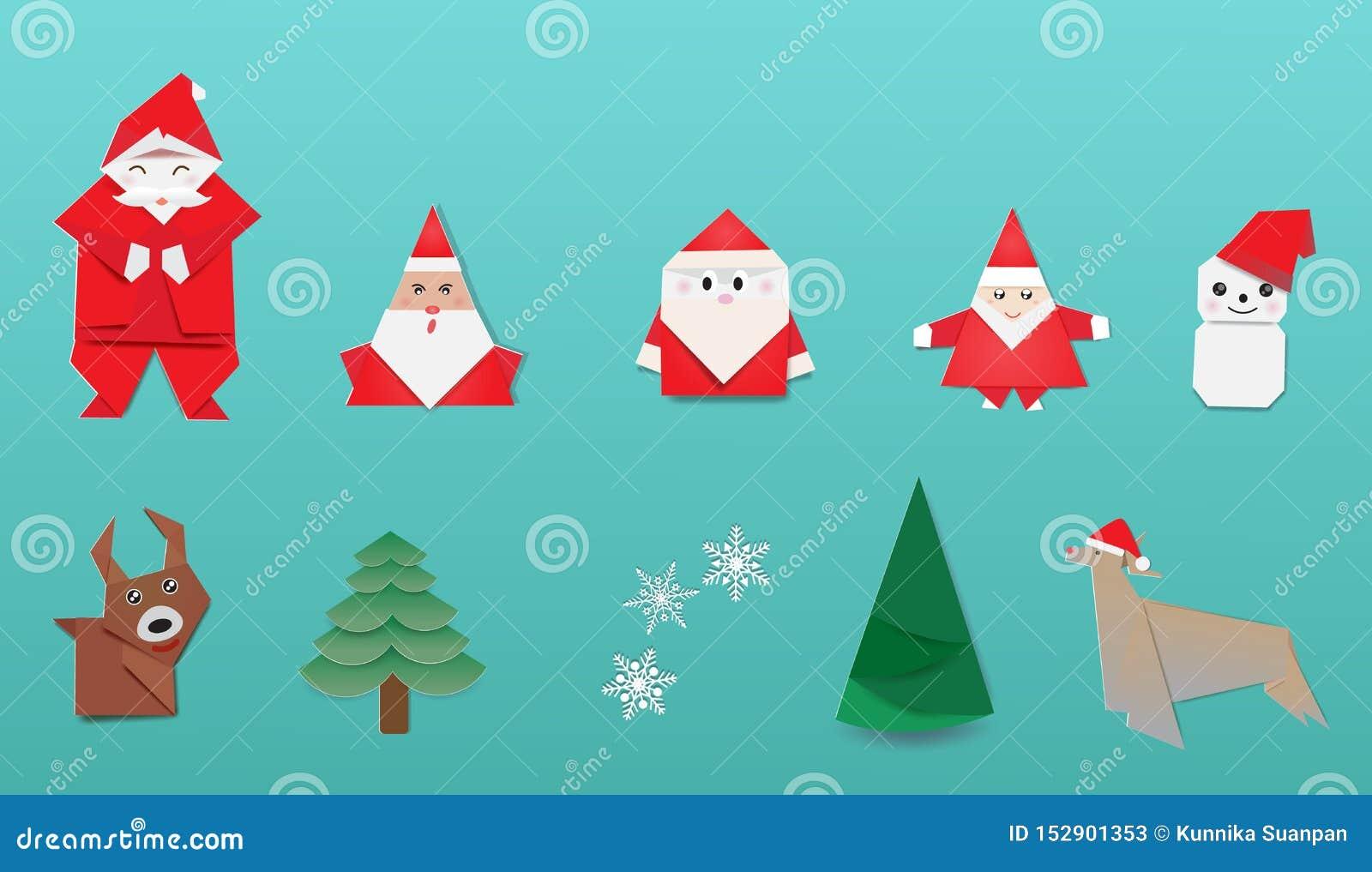 Father Julian's Blog: Origami Christmas Tree | 1017x1600