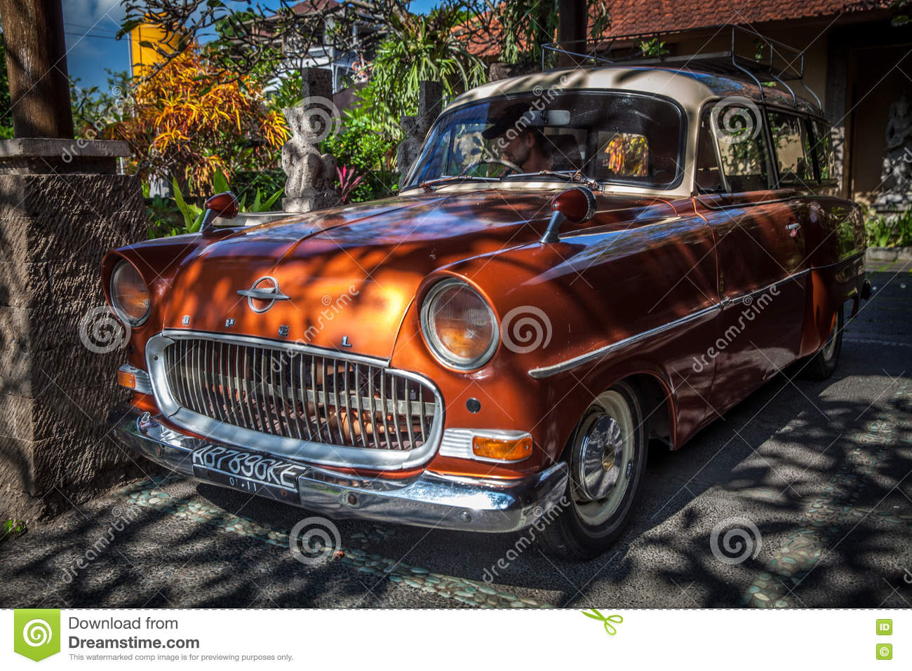 Collection Classic Old Car Retro Car OPEL Editorial Stock Photo ...