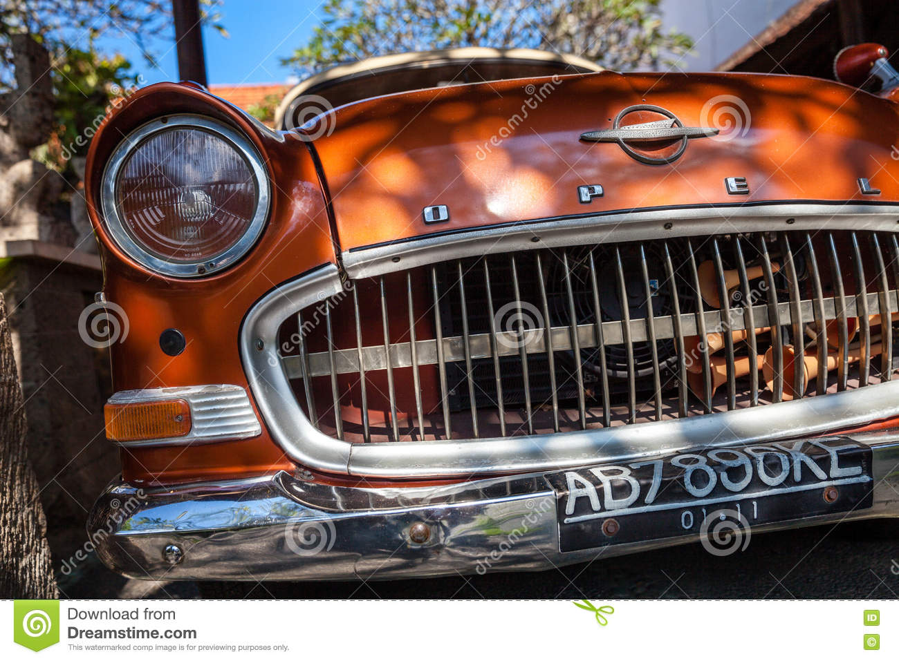 Collection Classic Old Car Retro Car OPEL Editorial Image - Image of ...
