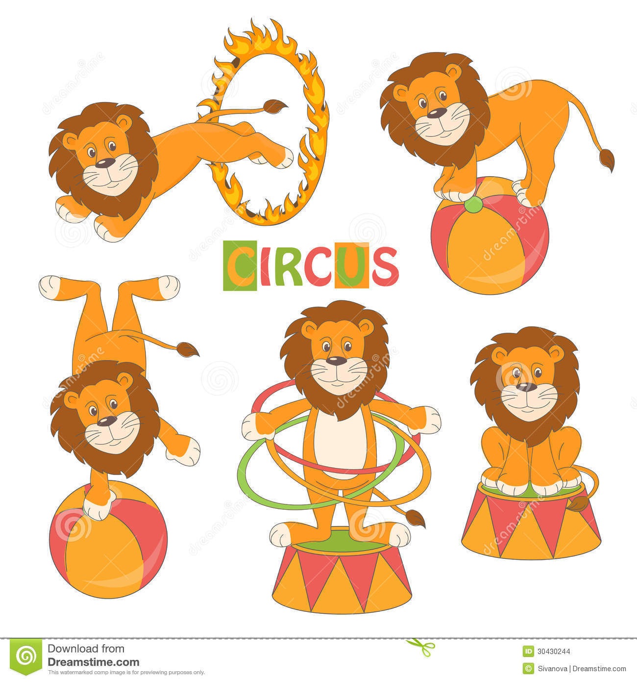 collection of cute circus lion stock images image 30430244 circus clipart for shirts circus clip art free images