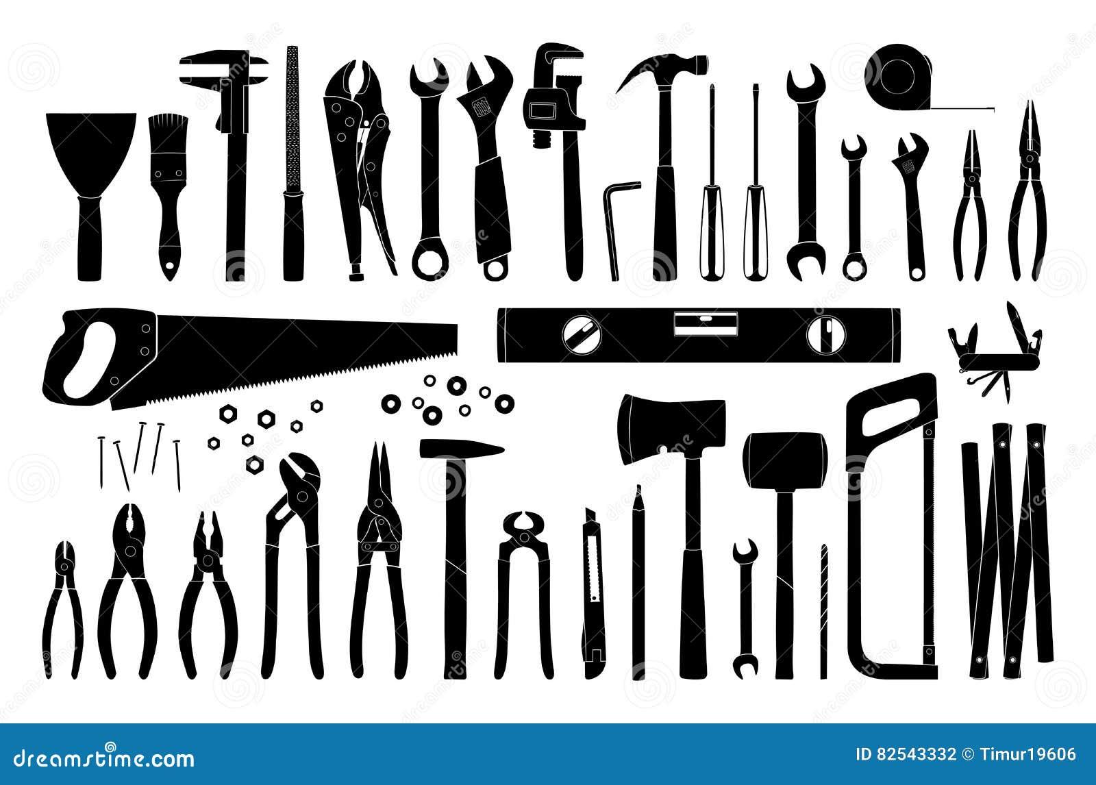 Collection d icône d outil