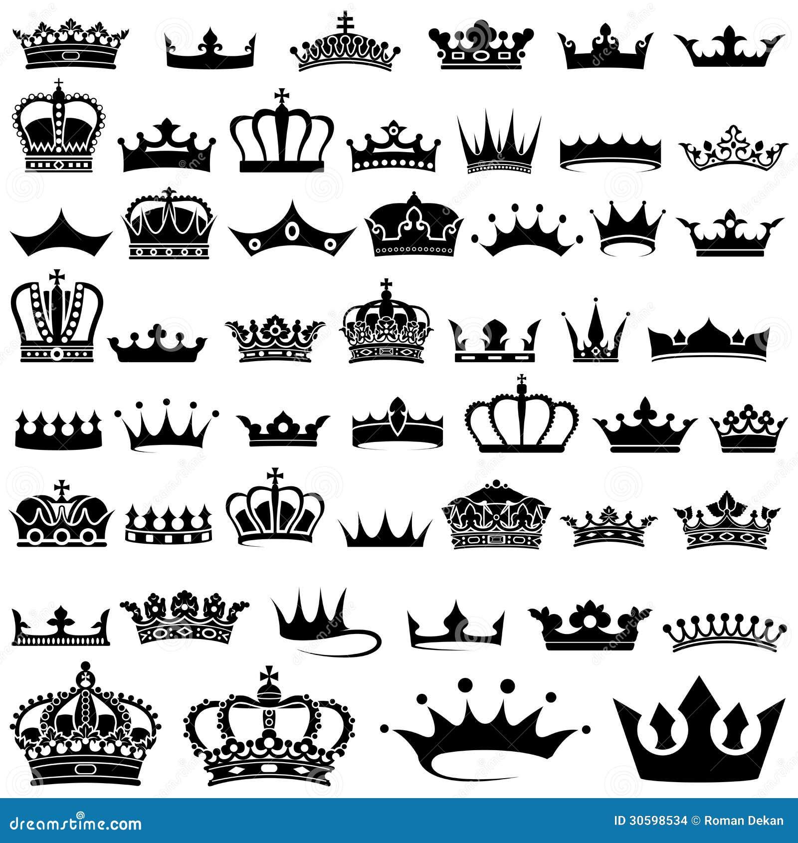 Collection de couronne