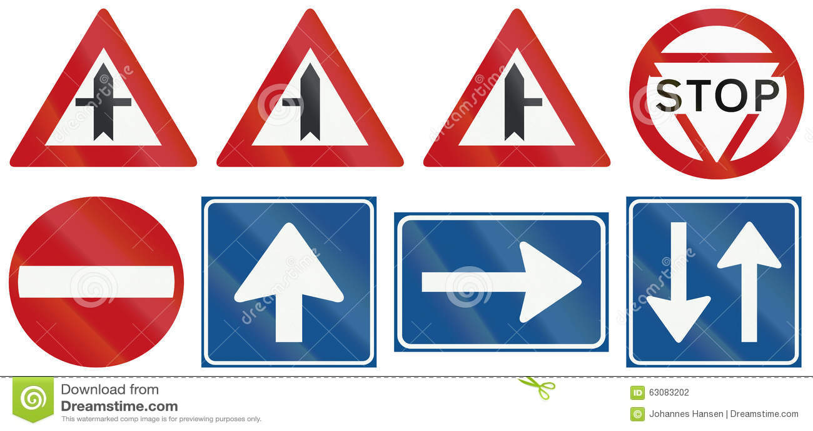 Download Collection De Panneaux Routiers De Réglementation Néerlandais Illustration Stock - Illustration du historique, carrefour: 63083202