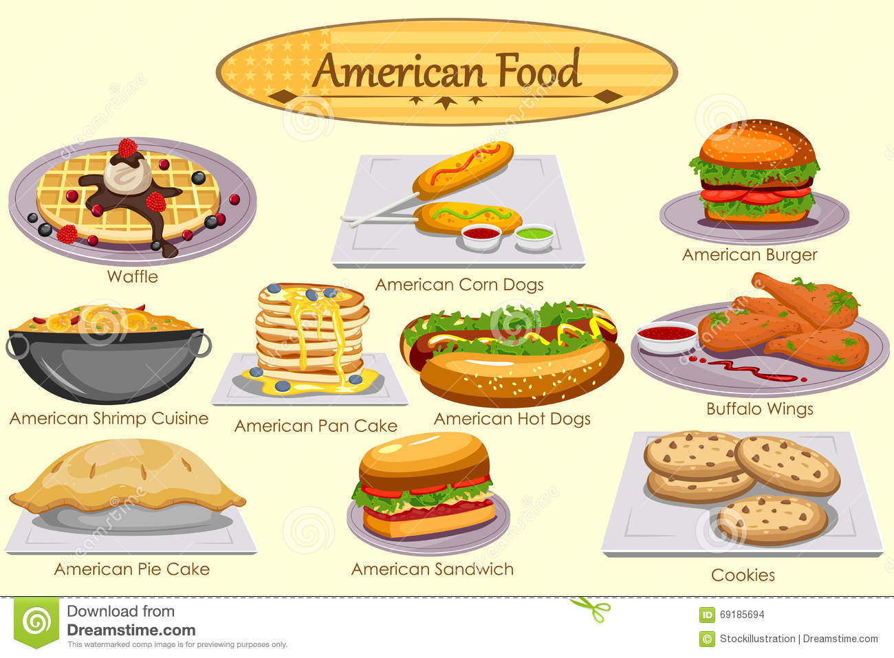 Yummy Lunch Clip Art