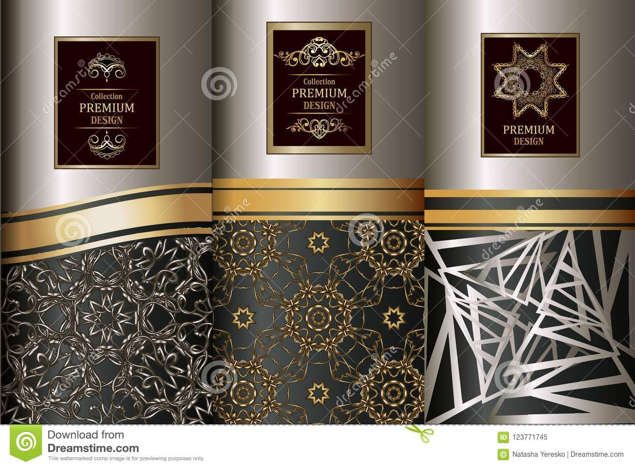 503d14cb2b63 Royalty-Free Vector. Collection of design elements