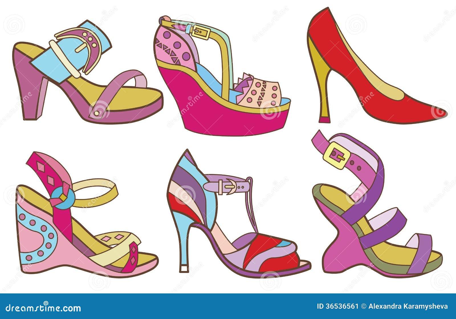 Lastest Red Women Shoe VectorIllustration  17795236  Shutterstock