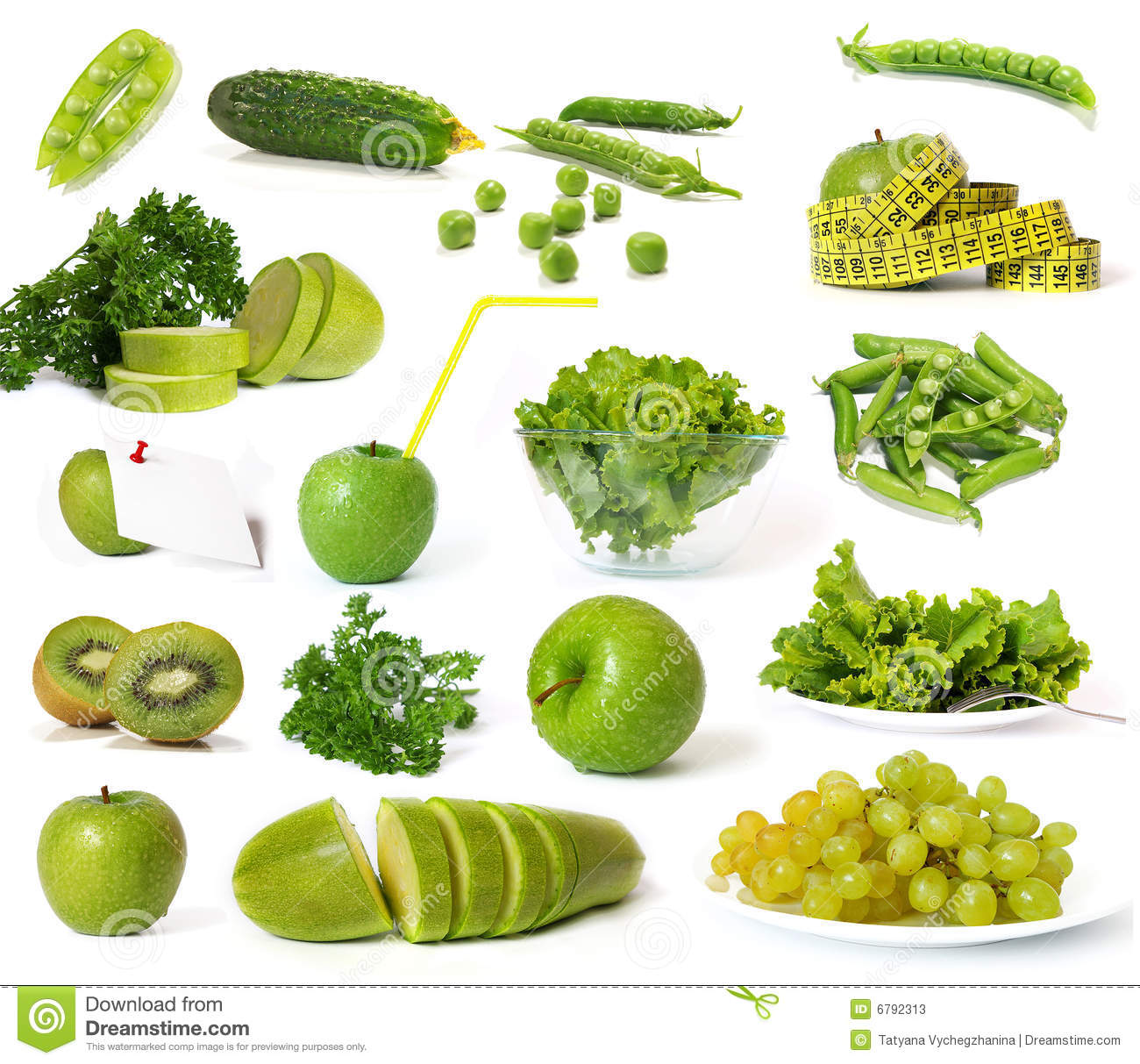 collection of green fruits and vegetables stock photos. Black Bedroom Furniture Sets. Home Design Ideas
