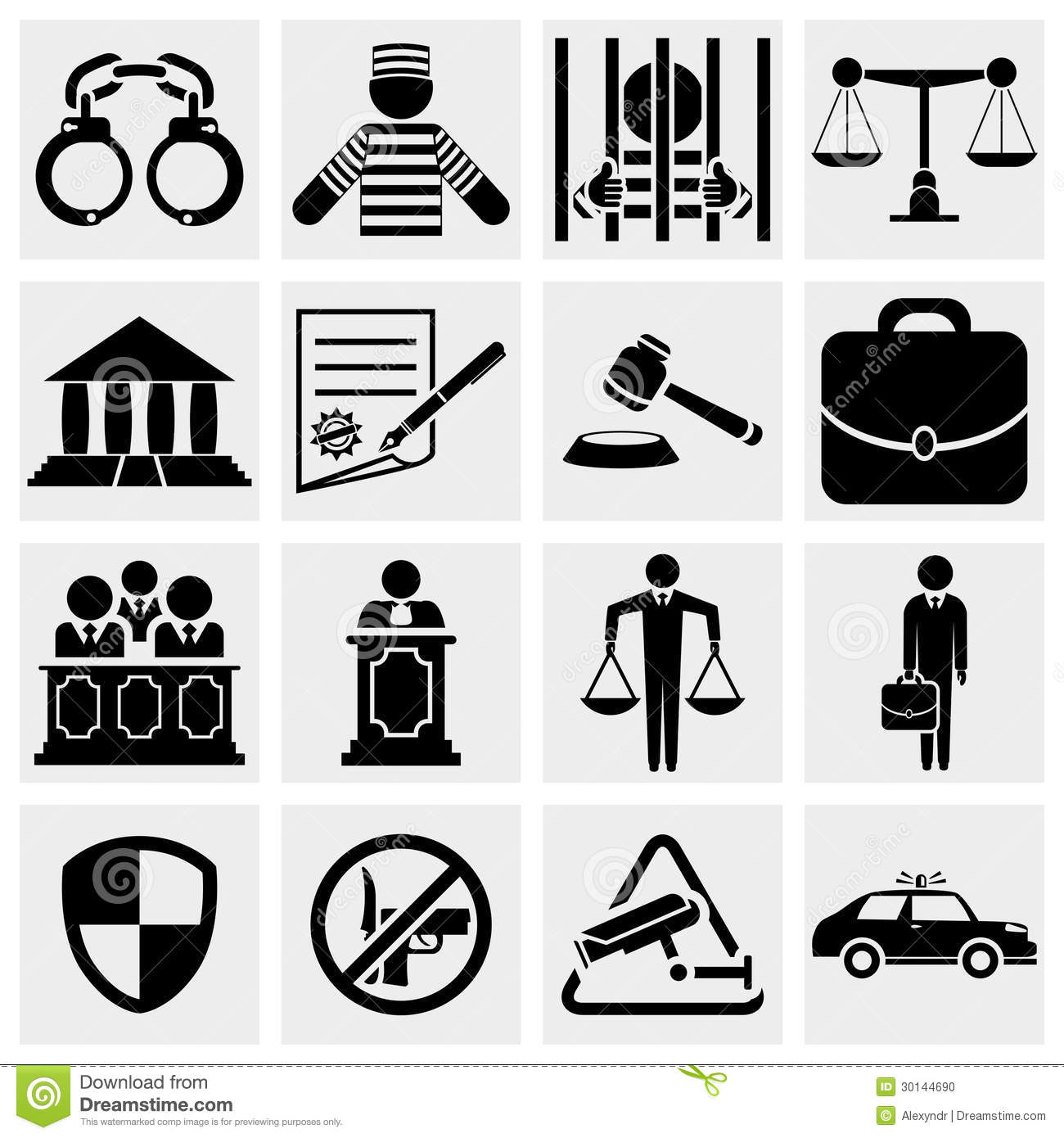 The core elements of justice and law in free societies