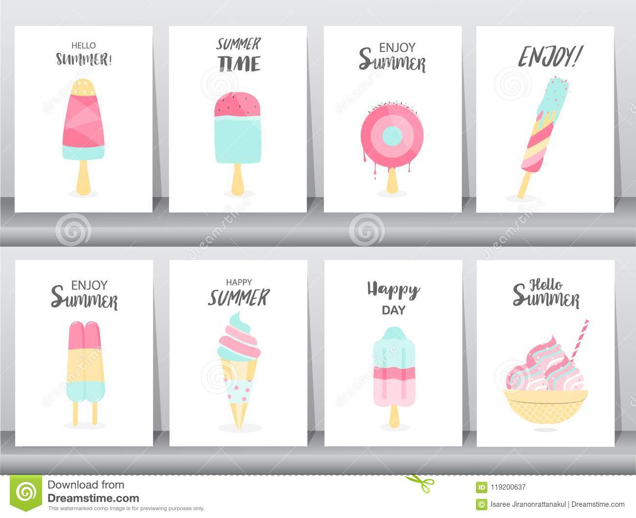Collection Of Ice Cream Invitation Cardhappy National Ice Cream Day