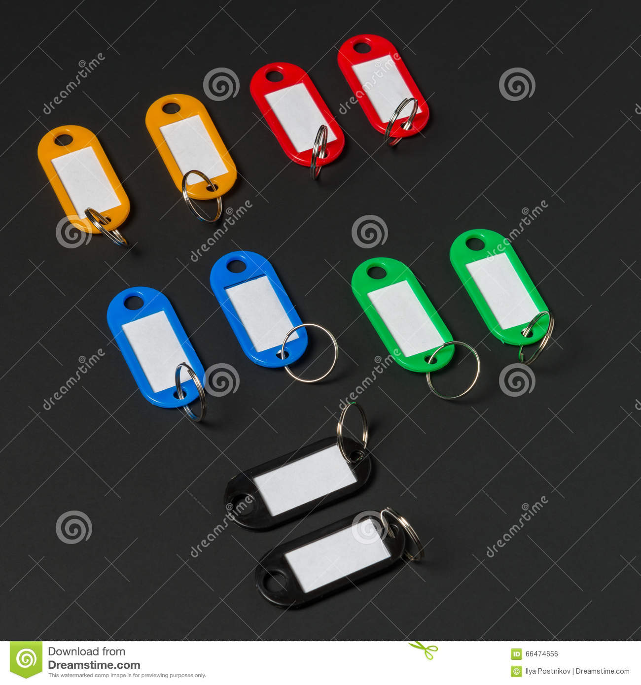 Collection of a key fob stock photo  Image of copy, design