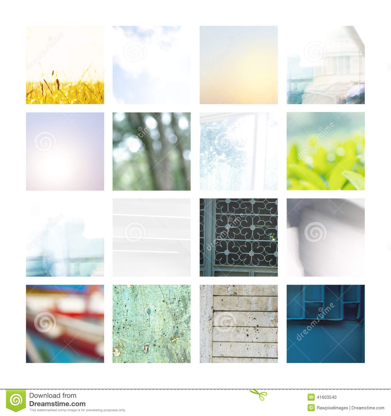 Collection of Natural Backgrounds and Patterns