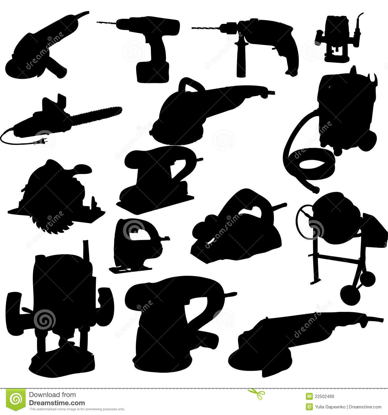 Power Tools Clipart Clipart Collection Clip Art Package