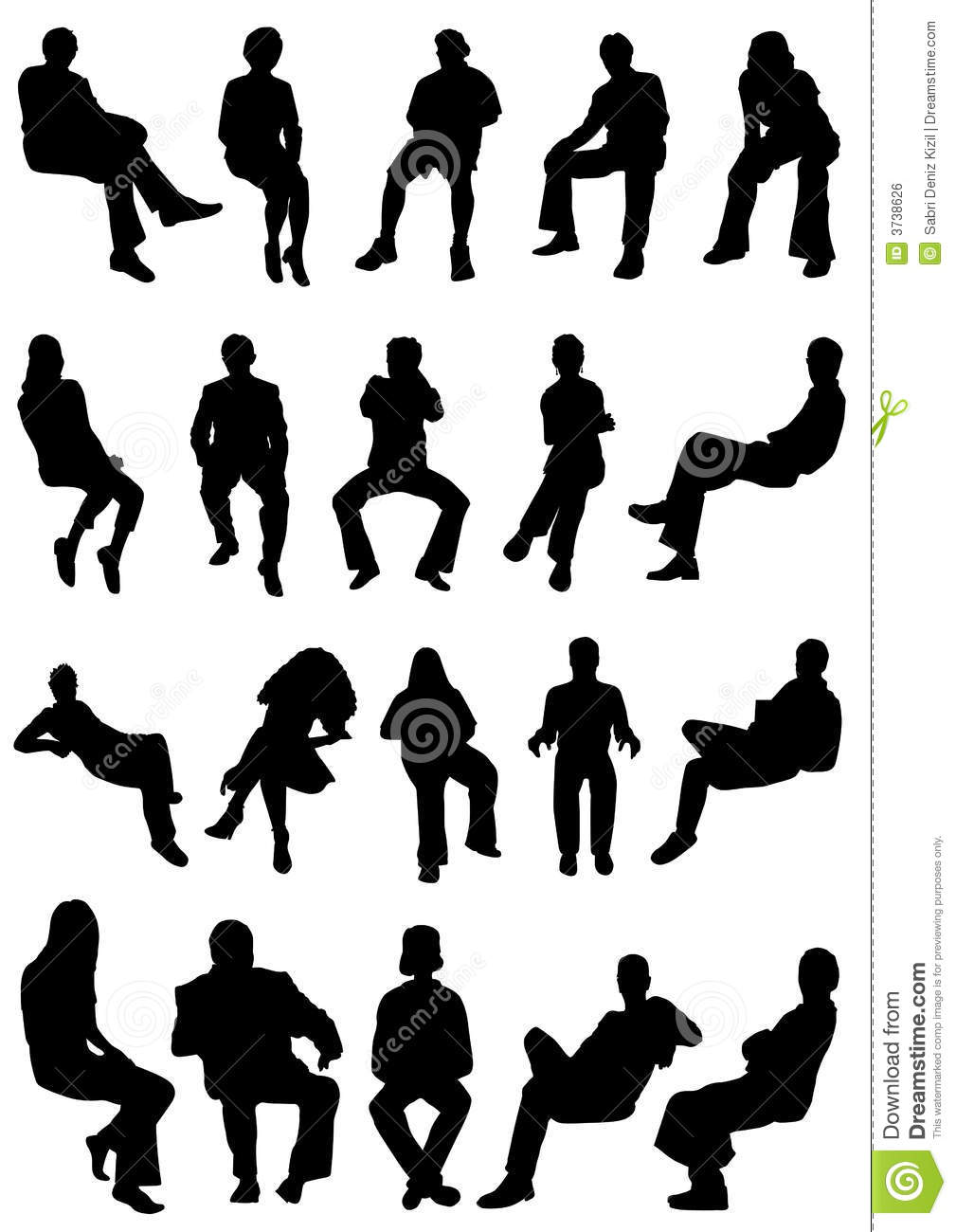 collection of sitting people vector stock vector cell phone images clipart cell phone clip art images template