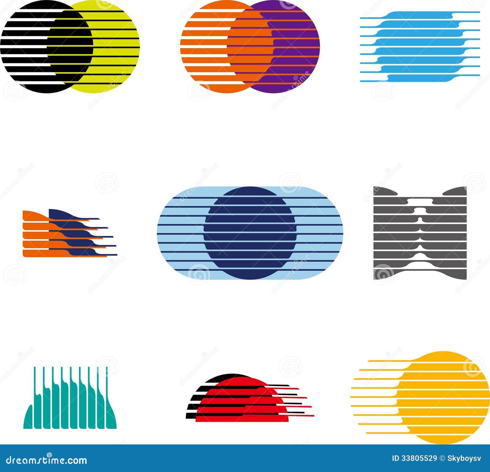 collection of sphere vector logo set stock vector vector sphere rc drone Ball Vector