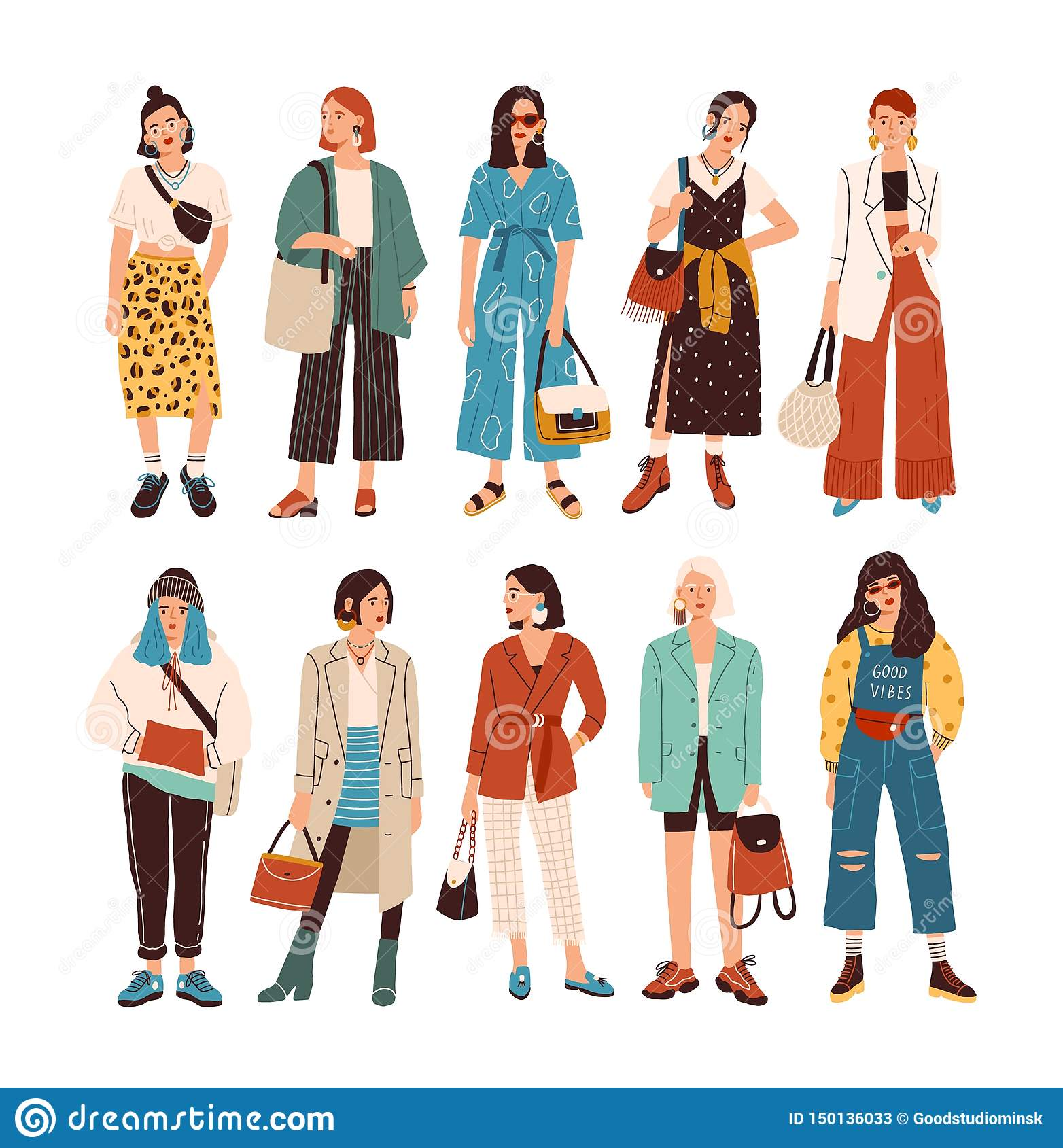 Casual Outfits Stock Illustrations 495 Casual Outfits Stock Illustrations Vectors Clipart Dreamstime